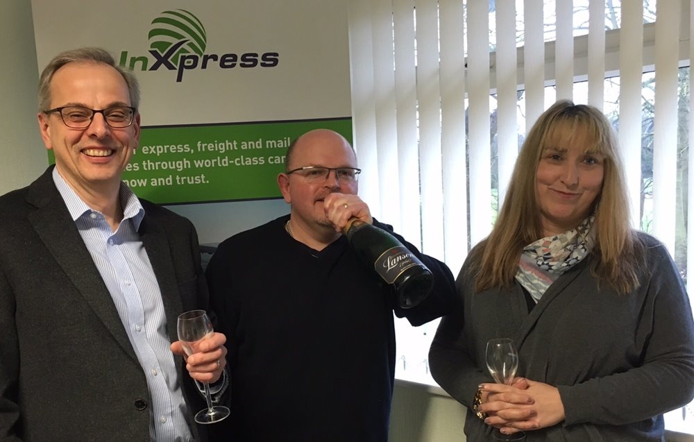 A decade of success at InXpress Image
